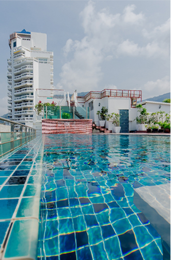 Swimming Pool Aspery Hotel Patong Beach