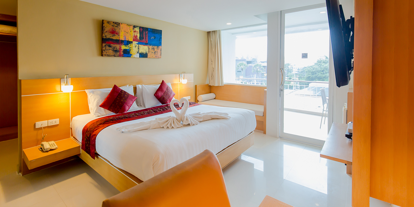 Accommodation Superior Room Aspery Hotel Patgon Beach